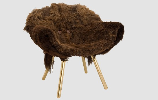 chaise wooly