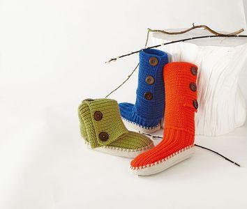 chaussettes de noel colorees