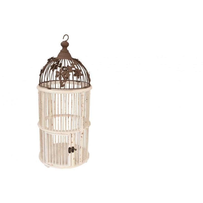 cage à oiseaux bois