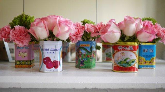 roses en boite